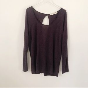 Anthropologie | Pilcro Long Sleeve Purple Top